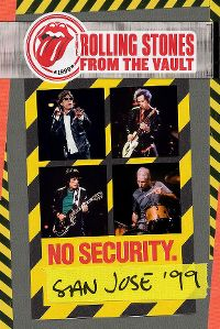 Cover The Rolling Stones - From The Vault - No Security. San Jose '99 [DVD]